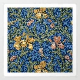 William Morris Flowers Art Print
