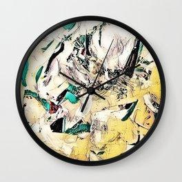Half & Half 01 Wall Clock