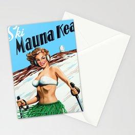 Ski Mauna Kea Stationery Cards