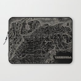 Venezuela Antique Map Laptop Sleeve