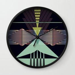 Arrow Types III Wall Clock
