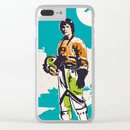 Skywalker pop style Clear iPhone Case
