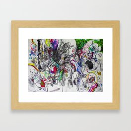 Angry Spirits of Arthur McDuffie Framed Art Print