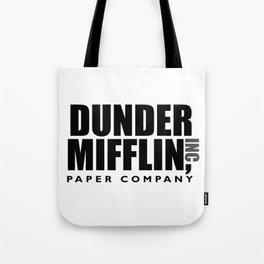 The Dunder Office Mifflin Inc. Design, T-Shirt, tshirt, tee, jersey, poster, Original Funny Gift Tote Bag