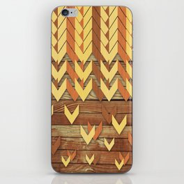 ZigZag Woody iPhone Skin