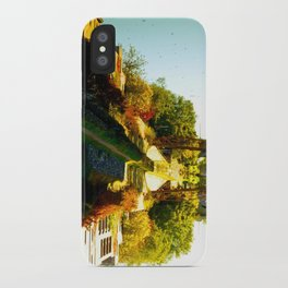 Reflections In The Water iPhone Case