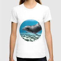 dolphin T-shirts featuring Dolphin by Design Windmill