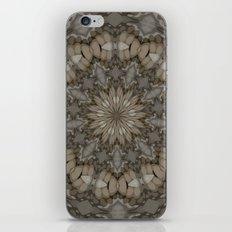 Natural Earth Tones Mandala Pattern iPhone & iPod Skin