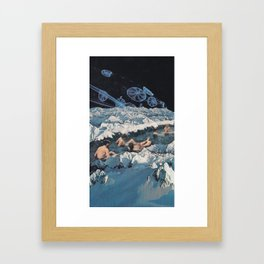 Onsen Framed Art Print
