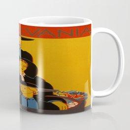 Vintage poster - Pennsylvania Coffee Mug