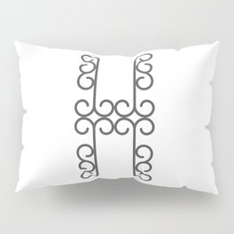 """Letter """"H"""" in beautiful design Fashion Modern Style Pillow Sham"""