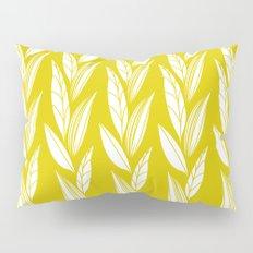 Growing Leaves: Golden Yellow  Pillow Sham