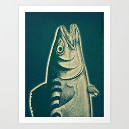 Piscibus 3 Art Print