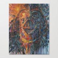vader Canvas Prints featuring Vader by artofJPH