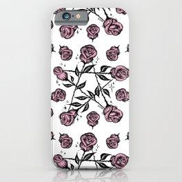 R O S E G R A M iPhone Case