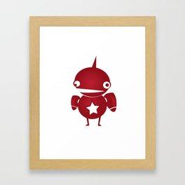 minima - slowbot 002 Framed Art Print