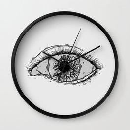 Transfixed Wall Clock