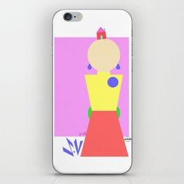 Sasha Velour Geometric iPhone Skin