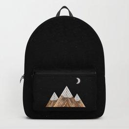 Digital Grain Mountains Backpack