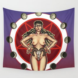 Sic Vita Est: A Monthly Sacrifice Wall Tapestry