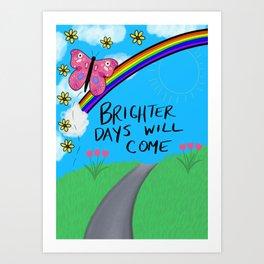 Bright Days Art Print