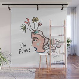 how are you doing? Wall Mural