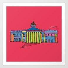 National gallery Art Print