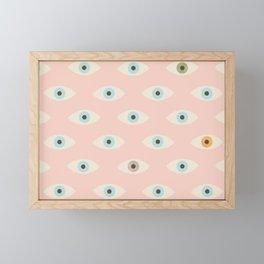 Thousand Eyes Framed Mini Art Print