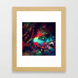 Paralyzed by Injustice #icantbreathe Framed Art Print