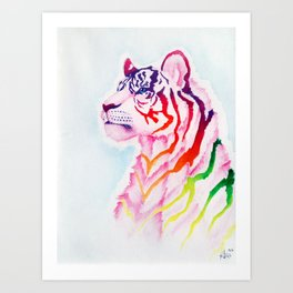 Colours of the Rainbow Art Print