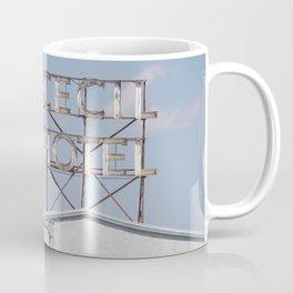 Cecil Hotel sign Coffee Mug