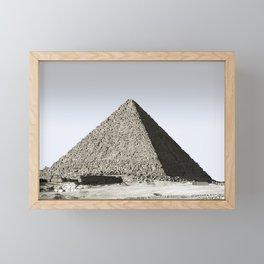 Egyptian Pyramid Framed Mini Art Print