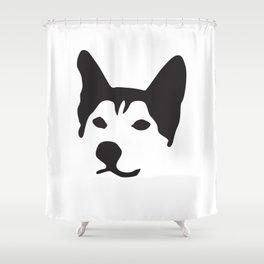 Husky Dog Breed Shower Curtain
