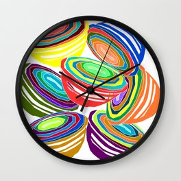 Favoriteware Mixing Bowls Wall Clock