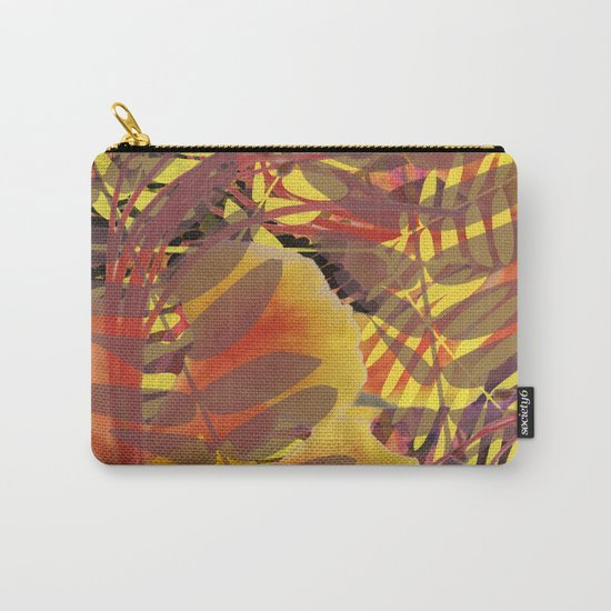 Autumn Tropical Vibe Carry-All Pouch