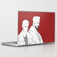 pacific rim Laptop & iPad Skins featuring Pacific Rim - Cherno Alpha by arttano