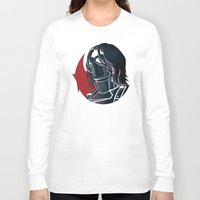 bucky Long Sleeve T-shirts featuring Bucky by Charleighkat