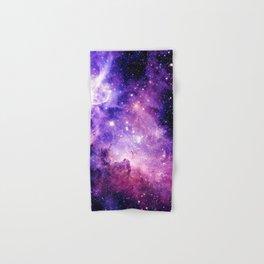 Galaxy Nebula Purple Pink : Carina Nebula Hand & Bath Towel