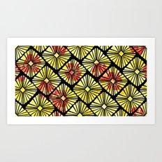 Geo Garden Art Print