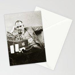 Steve Jobs As Edison Stationery Cards
