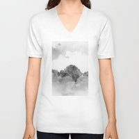 heaven V-neck T-shirts featuring Heaven by Diana Mutino