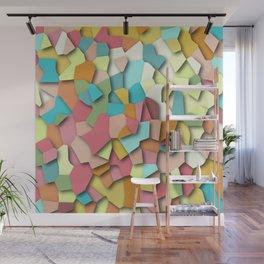 mosaic chaos Wall Mural