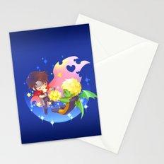 teddy billy - love stars Stationery Cards
