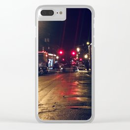 Devil's Triangle RVA Clear iPhone Case