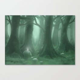 A Great Forest Canvas Print