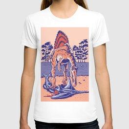 Spinosaurus the Hunter T-shirt