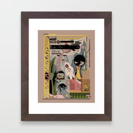 Fight for Spa Framed Art Print