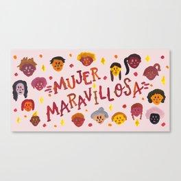 Mujer Maravillosa Canvas Print