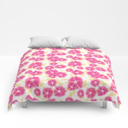 12 Sketched Mini Flowers Comforters