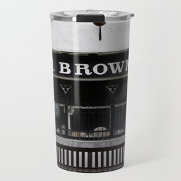 Store Front From the Past Travel Mug